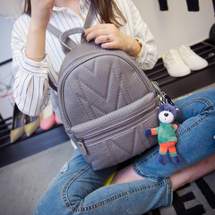 Us about shoulder bags women bags fall 2015 the new Korean version of spiraea washing bag backpacks student bags bags bags
