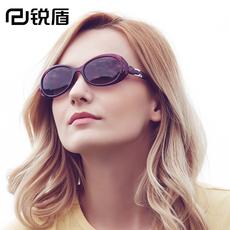 偏光太阳镜女士防紫外线眼镜小框小脸型遮阳镜墨镜配度数近视椭圆