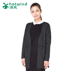 Hot ladies sweater coat long Cardigan Sweater women in spring and autumn and long sleeve slim coat 08H5707