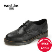 Westlink/West fall 2015 New England surge casual leather flat shoes with Brock