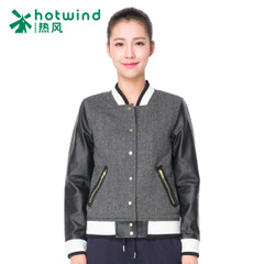 Hot spring and autumn new products women's tide baseball uniform collar short coat Korean little Jacket Women 07H5703
