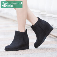 Hot ladies round flat high boots high heels short boots spring autumn and winter boots ankle boots H86W5411