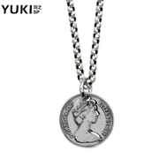 YUKI men''s 925 Silver necklace Europe quality fashion hipster girls clavicle sportsman distribution chain and short-chain chain