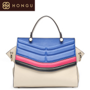 Honggu red Valley spring/summer 2015 counters authentic new ladies leather casual laptop shoulder bag 5293