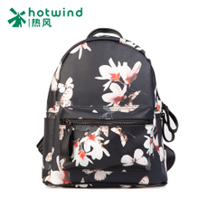 Backpack girl Korean version flows of hot air Academy wind ladies printed backpack bag 5002H5507