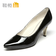 Shoebox shoe spring 2015 OL stiletto pointed new high heel women shoes women's shoes