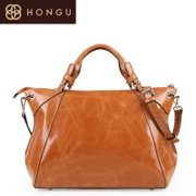 HONGU/Hong Gu flagship-store counters authentic handbags slung cowhide fashion leisure single shoulder women bag 4437 Biggie