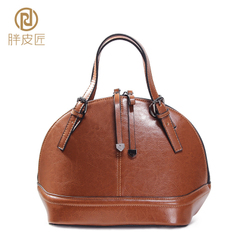 Mini cowhide leather women bag 2016 new autumn fat Tanner shell Pack Small Crossbody bag with the bag