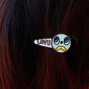 Know Connie hair bangs clips side clips hair accessories Korean version of graffiti personalities cartoon duck-billed card head jewelry
