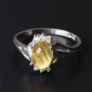 Treasure rare high porosity titanium Crystal Crystal ring into making concessions feedback old customers welfare ex-factory seconds