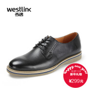 Westlink/West 2015 winter New England first layer cowhide leather belt business casual men shoes