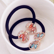 Good Korea hair accessories hair band hair tiara ponytail hair band hair rope end flower jewelry