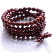 Hairy girl natural India Venus lobular rosewood bracelets 108 along the grain of fabric Bead Bracelet