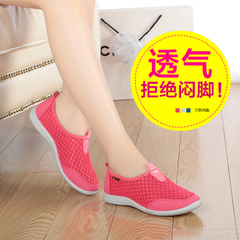 Beijing morning shoes old Beijing cloth shoes women's shoes new network end of super soft comfortable shoes with mesh ventilation keeping feet women shoes