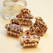 Beautiful Princess Korea Korean version of Leopard print small catch clips Han Chao hairpin clip bangs clip catch clamp to clamp