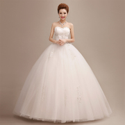Wedding gowns 2015 new spring/summer fashion line gown with a fitted bodice with the Korean version of plus size slimming bridal diamond
