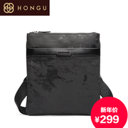 Honggu Hong Gu counters authentic 2015 new style fashion leisure single shoulder bag slung man 7986