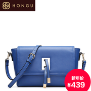 Honggu red Valley women for 2015 genuine leather shoulder slung bags new counters for 6311