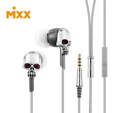 MIXX红眼骷髅头耳机安卓苹果通用带麦首饰耳机 mixx ME957K-3