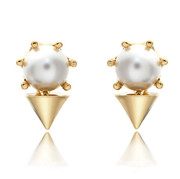 9.9 post Korean jewelry jewelry Korea wild detachable rivet-Stud Earrings earring