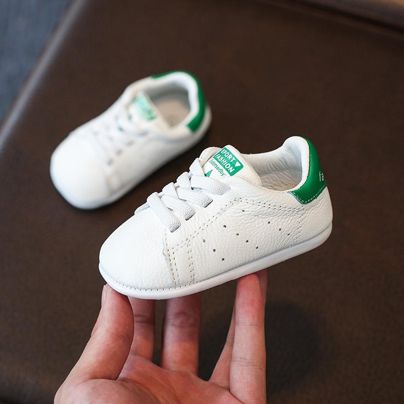 秋冬季宝宝鞋婴儿软底学步鞋棉鞋0-1岁2-3小白鞋男女童幼6-12个月