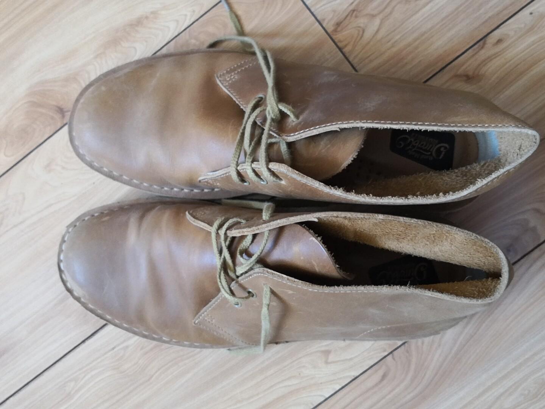 沙漠靴 44码  非clark