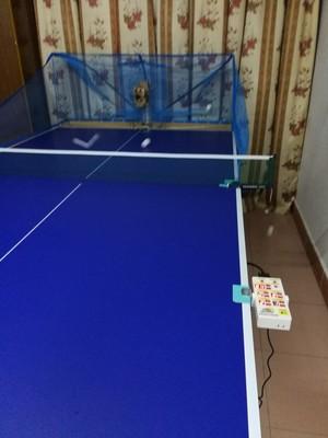 训练使用评测超级乒皇乒乓球发球机T288-5怎么样??大家说说超级乒皇发球机好不好?