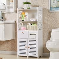 浴室卫生间储物柜落地防水厕所洗手间置物架马桶收纳边柜卫浴柜子