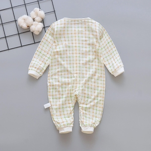 Baby Long Sleeve One-piece dress Spring and Autumn 3 months male and female baby Romper 6 Toddler 9 Cloth Autumn clothin