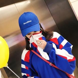 宽松原宿风 女春装2018新款