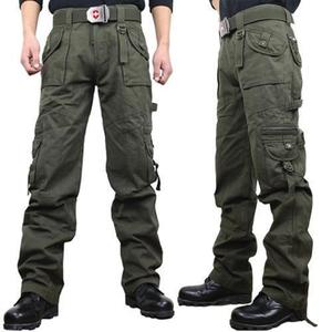 Military winter outdoor climbing clothing casual pants multi pocket outdoor pants travel pants army fan men's pants overalls