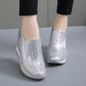 Spring and autumn women's shoes 2019 new casual wild Korean version of increased small size women's shoes 31 32 33 single shoes women
