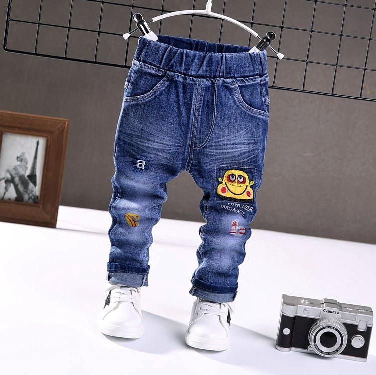 童装男童1-2-3-4-5-6岁男孩子春秋款牛仔裤长裤儿童春秋天单裤潮