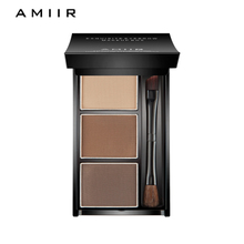 Three-color eyebrow powder for stereo modeling of AMIIR