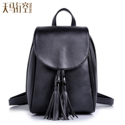 New Japan Korea 2015 winter clean mini Backpack Backpack small female Korean school tassel bag