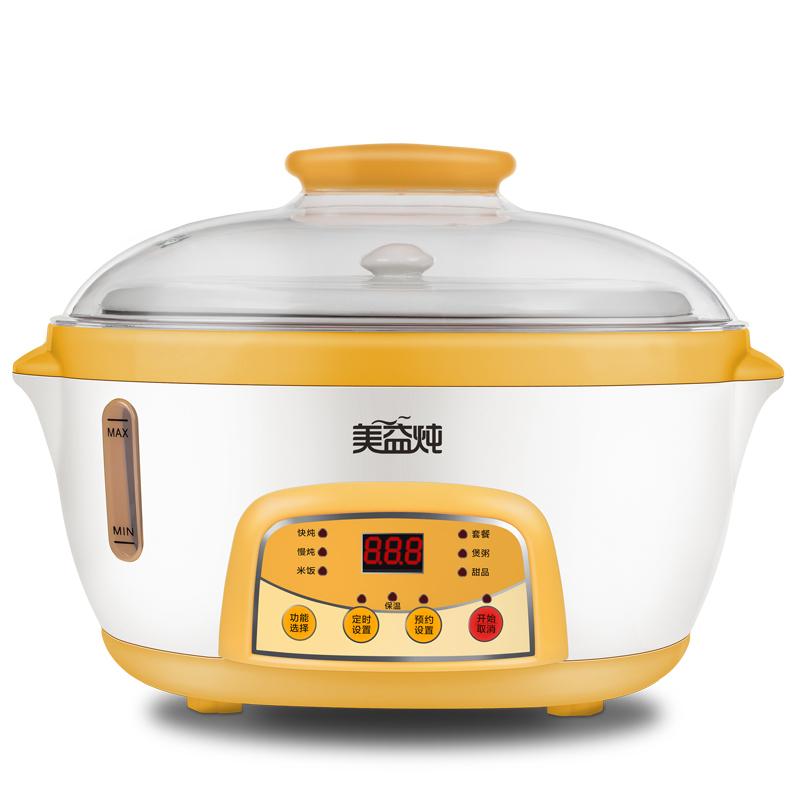 美益炖 DDZ18RL煮粥锅怎么样,能定时吗