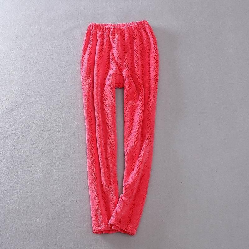 杂款   女士冬季休闲家居裤珊瑚绒裤加厚裤法兰绒睡裤女长裤冬