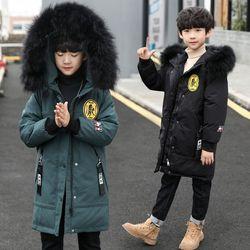 童装男童冬装棉衣2020年新款洋气儿童加厚羽绒棉服男孩保暖棉袄潮