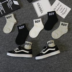儿童袜子纯棉春秋夏季薄款男童宝宝女童中筒袜中大童男孩韩国潮袜