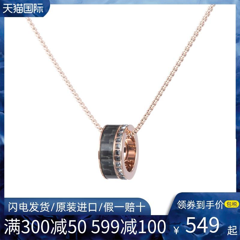 Swarovski/施华洛世奇锁骨链2021年新款转运珠圆环单环项链男潮女