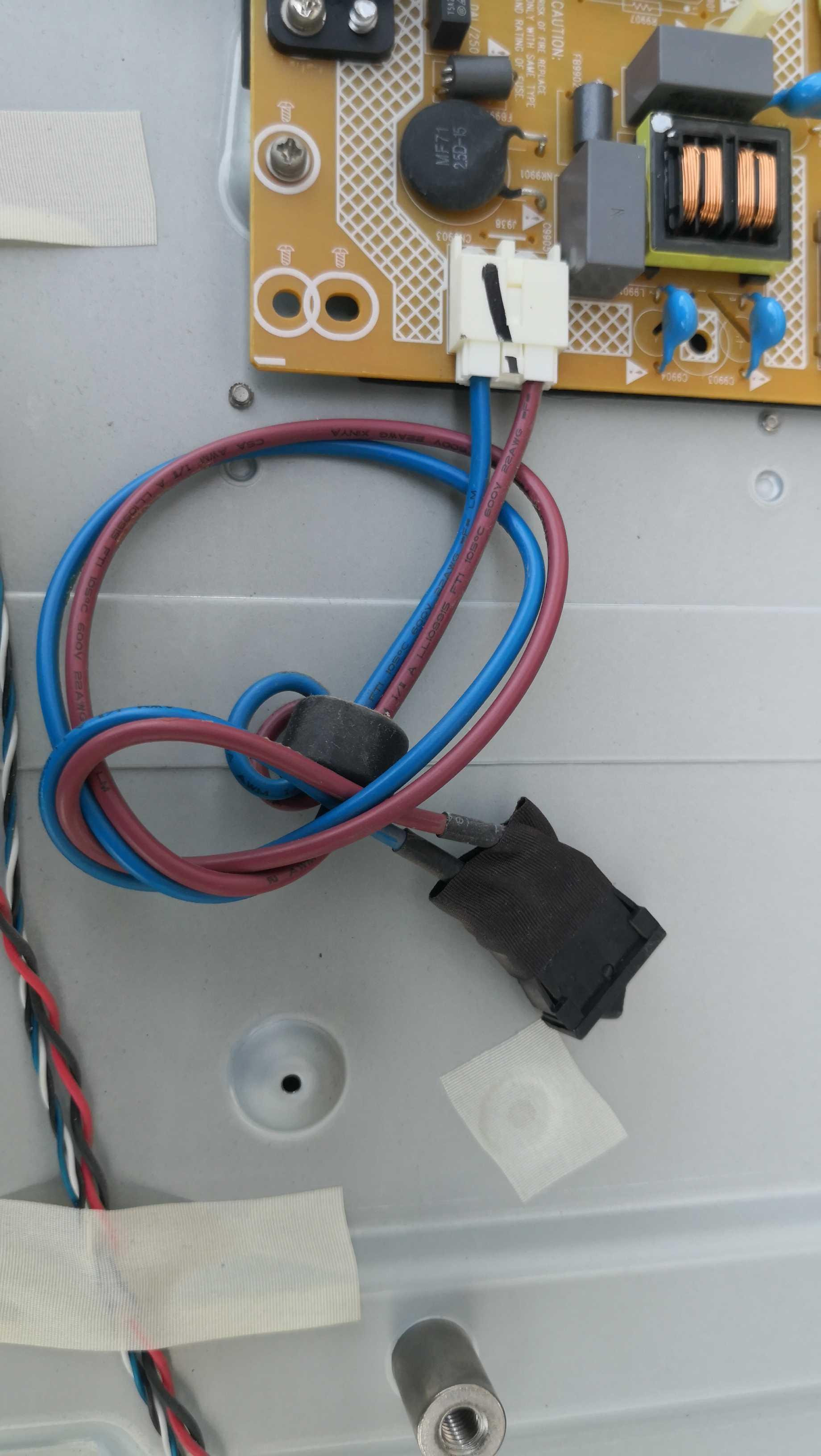 海尔LE46G3000 液晶电视电源开关 220V电源开关连接线
