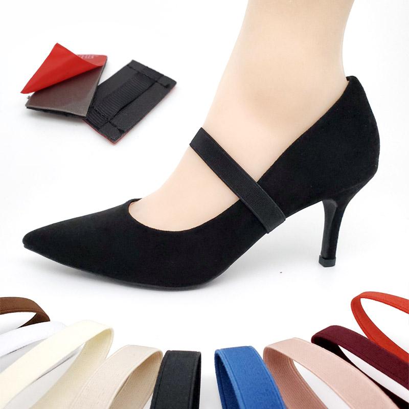 高跟鞋防掉跟束鞋带不跟脚固定绑带松紧带弹力防掉神器免安装鞋带