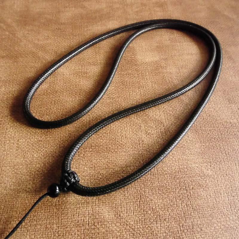 吊坠绳子高档玉坠挂绳男女玉佩佛牌子项链绳翡翠蜜蜡挂件配绳粗绳