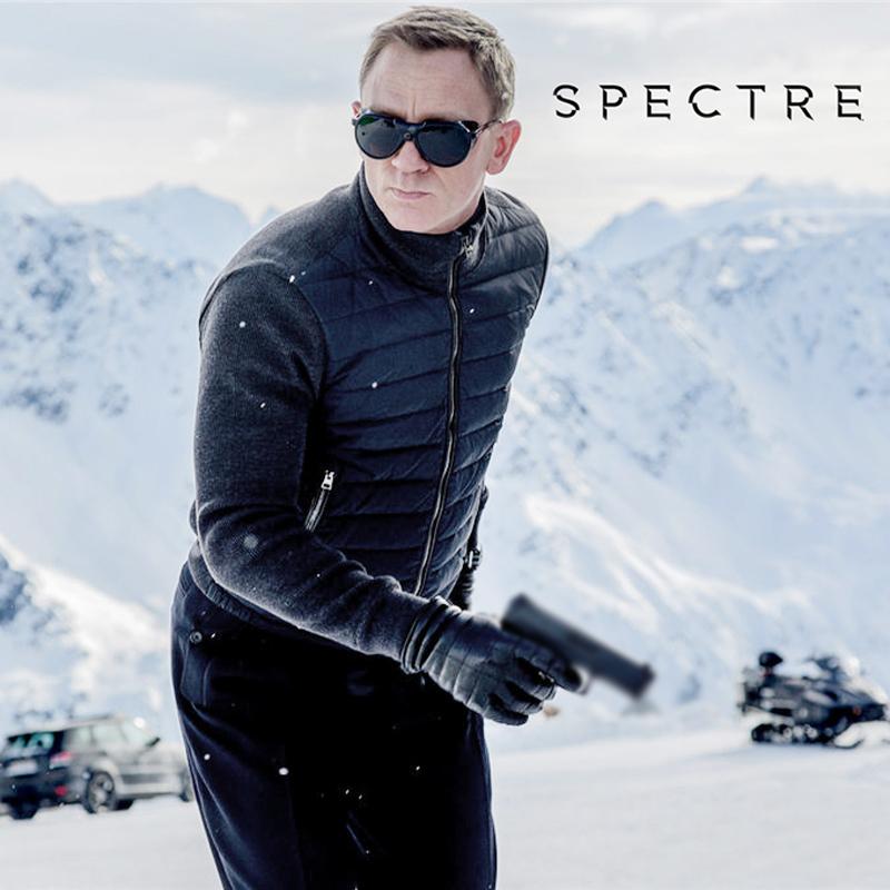鬼谷战术户外007幽灵党重磅特工毛衣美利诺羊毛拼接防水鹅绒棉服