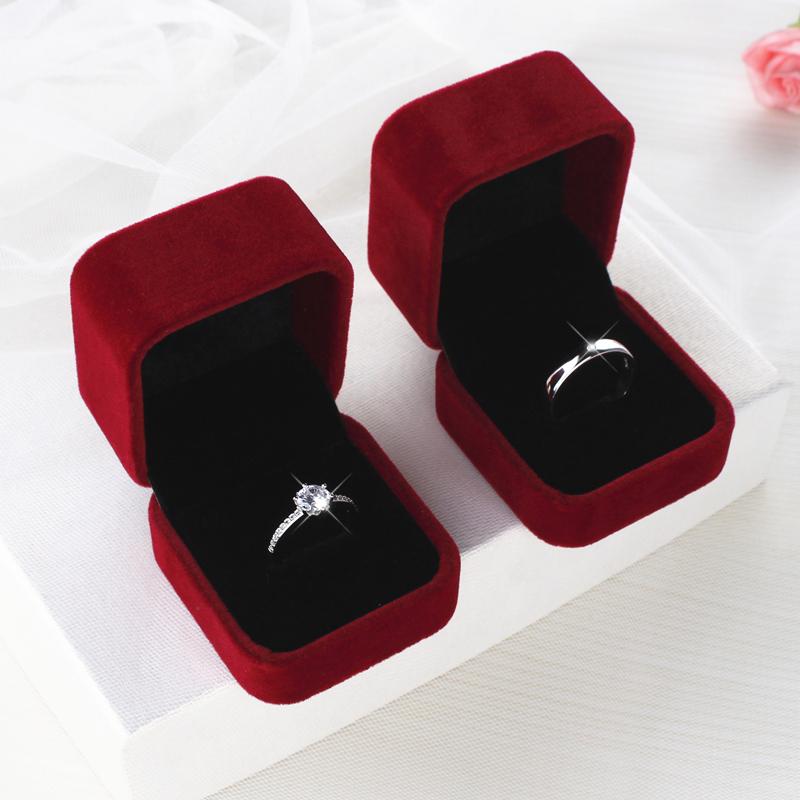 仿真婚戒对戒结婚一对婚礼现场用道具情侣戒指男女假钻戒交换仪式
