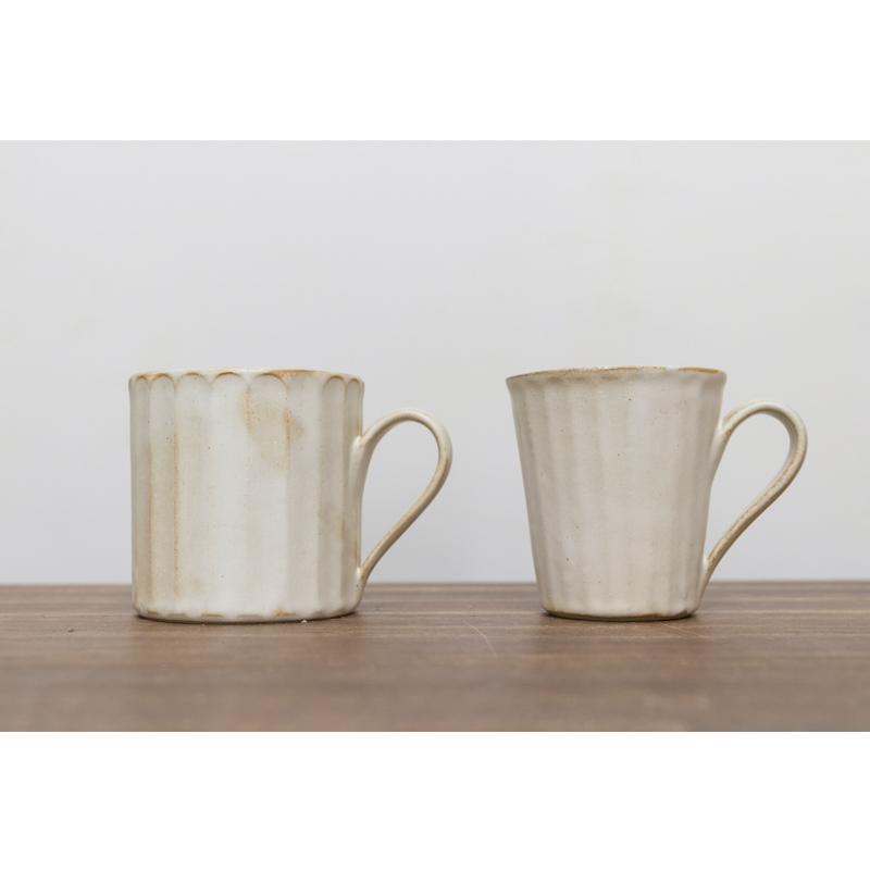 小葵川町屋日本进口益子烧耐高温粗陶瓷手作马克咖啡茶杯复古日式