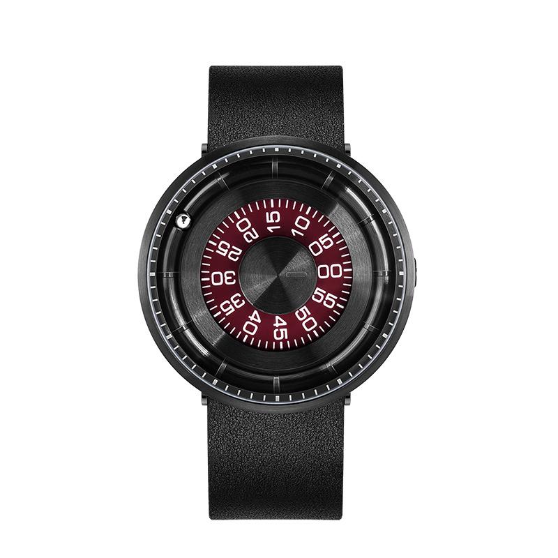 odm手表 黑科技学生手表男女表滚珠走时个性防水创意虫洞概念手表