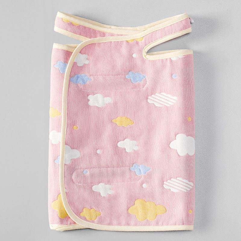 宝宝睡觉护肚子神器防踢被纯棉护肚围婴儿护肚脐肚兜春夏款092