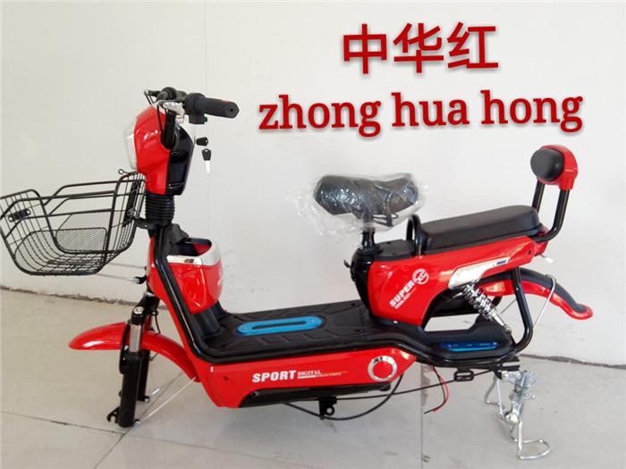 加州豹新款电动车成人电动自行车48v小型双人代步助力电瓶车女士图片