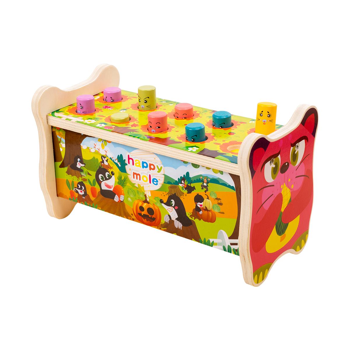 幼儿童打地鼠玩具1一2-3周岁半大号敲打老鼠游戏男女宝宝小孩益智